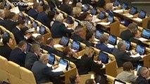 En Russie, la Douma sacre Vladimir Poutine