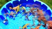 Lots of Dinosaurs for Kids- Jurassic World Dinosaur Tyrannosaurus T