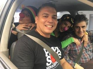 """Al Volante con José Gómez Chompré: """"Un payaso tiene el papel de desdramatizar el conflicto en Venezuela"""""""