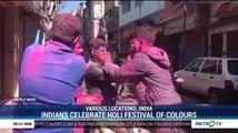 Indians Celebrate Holi Festival of Colours