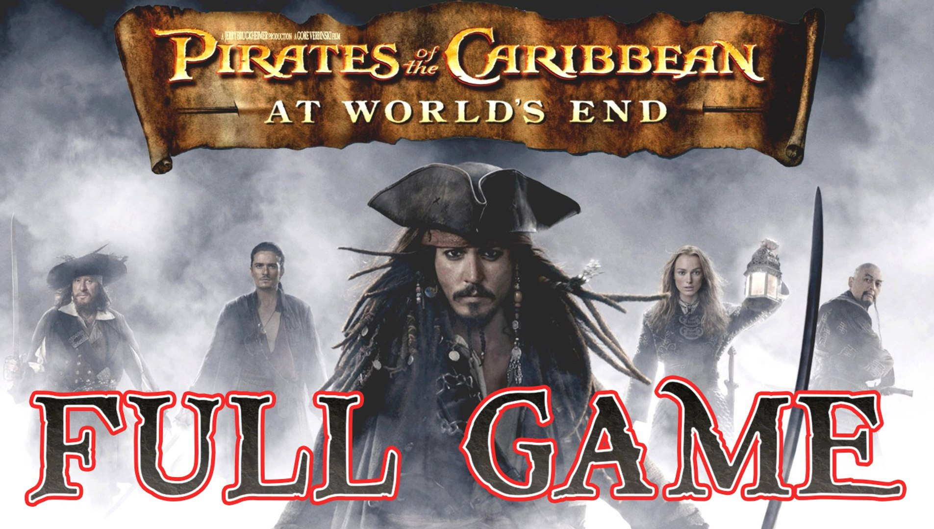 Pirates Of The Caribbean At World S End Full Game Longplay Ps2 Psp Wii Pc Video Dailymotion