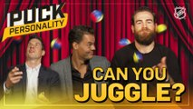 Puck Personality: Can NHL Superstars Juggle?