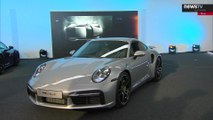 The World premiere of the Porsche 911 Turbo S