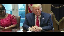 President Trump Attends a Meeting and Photo Opportunity with Black Leaders P1