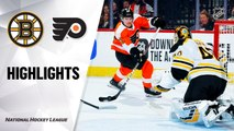 NHL Highlights | Bruins @ Flyers 3/10/2020