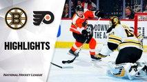 NHL Highlights | Bruins @ Flyers 3/10/2020
