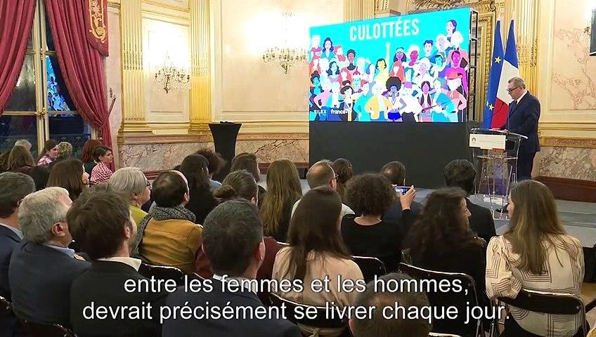 Inauguration de l'exposition sur « Les culottées » - Mardi 10 mars 2020