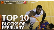 Turkish Airlines EuroLeague, Top 10 Blocks of February!
