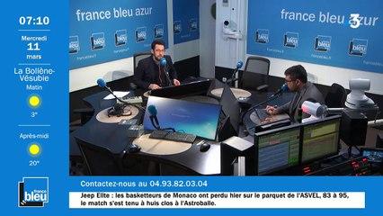La matinale de France Bleu Azur du 11/03/2020