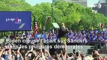 Primaires démocrates: Joe Biden creuse l'écart sur Bernie Sanders