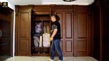 PY-004 Wardrobe Parallel Moving Hidden Door--PY-004 衣柜平移密室门--隠しドア--Palace Concealed Compartment 宫暗格