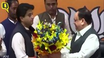 MP Political Crisis:Jyotiraditya  Scindia Joins BJP; Nominated for Rajya Sabha