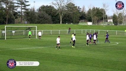 Le résumé vidéo de TFC/Stade Bordelais, 20ème journée du championnat U17