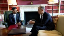 Rishi Sunak meets Mark Carney ahead of Budget announcement