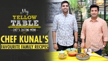Chef Kunal Kapur Cooks Food From His Childhood   Kebab Curry & Fruit Cream Recipe   My Yellow Table