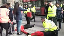 Environmental protesters stage demo outside Downing Street