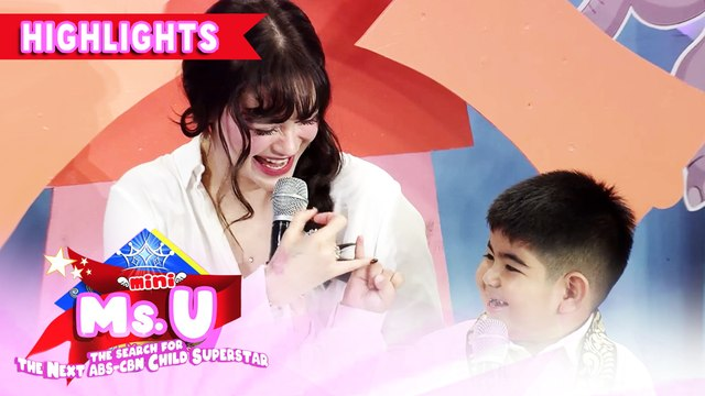 Yorme promises to Vice that he will study | It's Showtime Mini Miss U