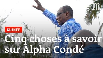Cinq choses à savoir sur Alpha Condé