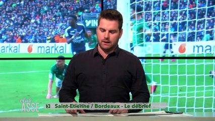 Le match nul face à Bordeaux / La qualification et les images de liesse historique, pour la finale de Coupe de France / Le calendrier qui attend les Verts d'ici la fin de saison, c'est au programme de ClubASSE cette semaine.
