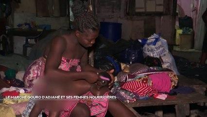 NCI REPORTAGES: Le marché GOURO d'Adjamé et ses femmes  nourrières