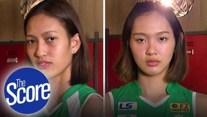 Meet DLSU's Rookies Thea Gagate And Leila Cruz | The Score