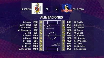 Resumen partido entre La Serena y Colo Colo Jornada 7 Primera Chile