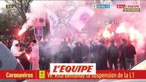 Plusieurs centaines de supporters déjà présents à la Porte d'Auteuil - Foot - C1