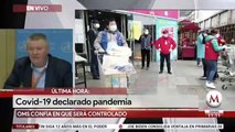 ÚLTIMA HORA: OMS declara pandemia mundial por coronavirus