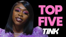 Tink shares her top five albums for romancing