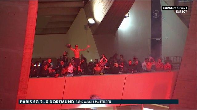 Images incroyables entre joueurs et supporters du PSG - Late Football Club