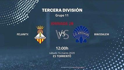 Previa partido entre Felanitx y Binissalem Jornada 28 Tercera División