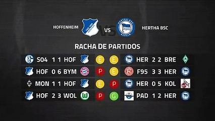 Previa partido entre Hoffenheim y Hertha BSC Jornada 26 Bundesliga