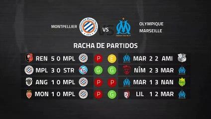 Previa partido entre Montpellier y Olympique Marseille Jornada 29 Ligue 1