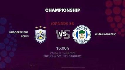 Previa partido entre Huddersfield Town y Wigan Athletic Jornada 38 Championship