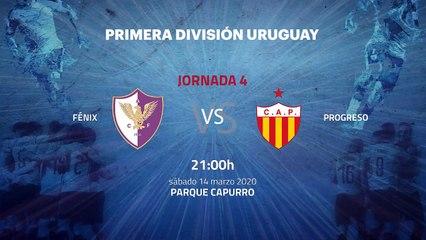 Previa partido entre Fénix y Progreso Jornada 4 Apertura Uruguay