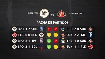 Previa partido entre Blackpool y Sunderland Jornada 38 League One