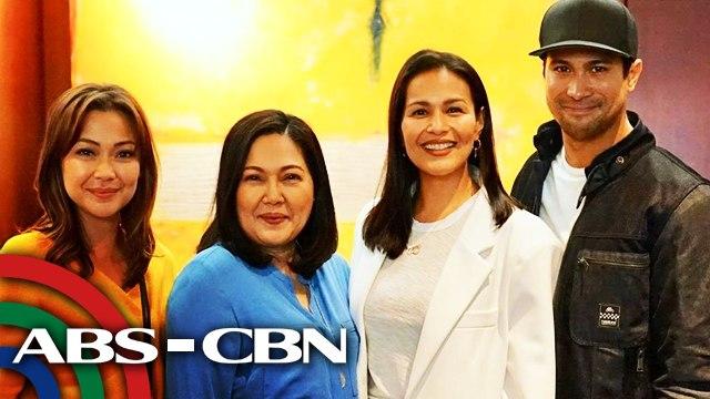 """Iza, Jodi, Sam at Maricel, bibida sa bagong serye na """"Ang Sa Iyo Ay Akin""""   UKG"""
