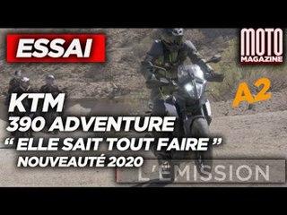 ESSAI KTM 390 ADVENTURE 2020 - La moto polyvalente