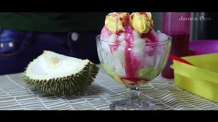 Es Sup Durian Madiun: Mirip Es Campur, Krim 100 Persen Durian Asli