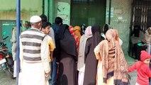 शामली: होली के बाद खुले सरकारी अस्पताल, उमड़ी मरीजों की भीड़