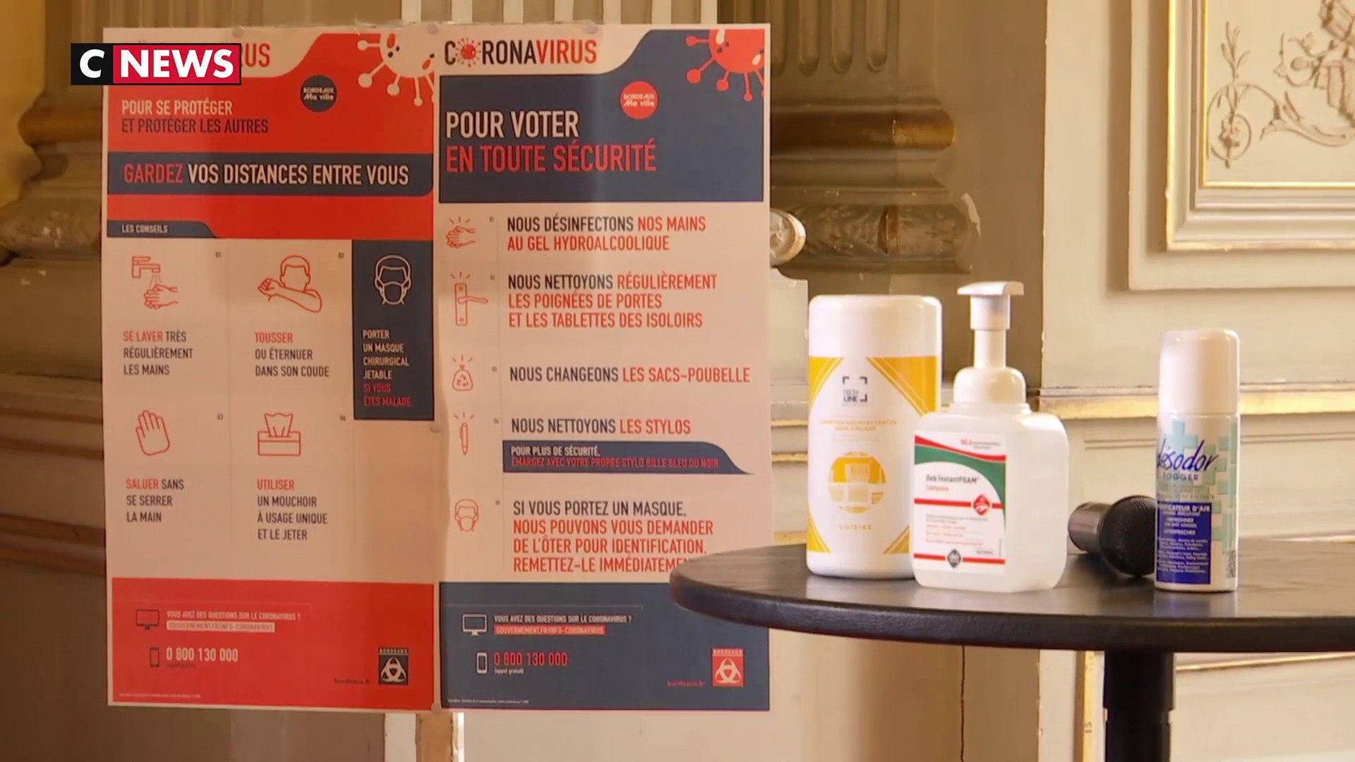 Coronavirus : la mairie de Bordeaux s'organise pour rassurer les électeurs