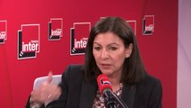"""Anne Hidalgo : """"Le rêve d'Anne Hidalgo, c'est qu'il y ait moins de pollution dans Paris, moins de bruit, qu'on ne meure plus de la pollution atmosphérique"""""""