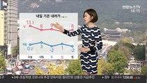 [날씨] 밤사이 중부 비, 내일 낮부터 쌀쌀…황사 유입