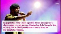 Slimane face à André Manoukian : il revient sur son élimination de la Nouvelle Star