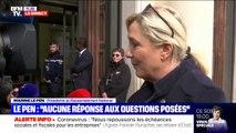 """Marine Le Pen sur le coronavirus: """"Nous sommes confrontés à une crise sanitaire. Rassurer oui, minimiser non"""""""