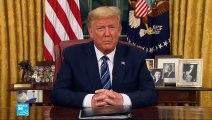 ترامب يتخذ خطة لحماية امريكا من كورونا