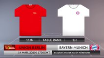 Match Preview: Union Berlin vs Bayern Munich on 14/03/2020