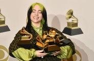 Billie Eilish marks Grammy win with diamonds