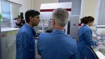 Rishi Sunak highlights NHS funding during hospital visit