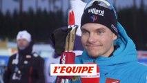 Jacquelin «Un petit peu déçu» - Biathlon - CM (H)